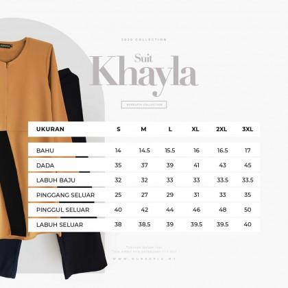 NURSAFIA KHAYLA SUIT (BLOUSE + LOOSE PANTS)